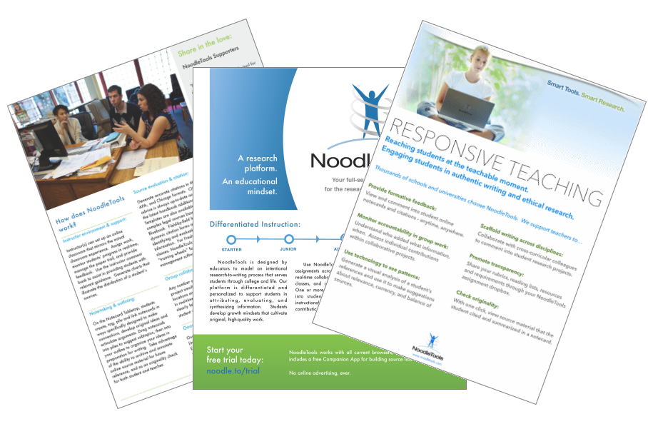 handouts  posters and graphics